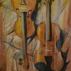 Fine Art Paintings – Musical Instruments