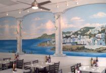 Zorbas Greek Restaurant (mural)