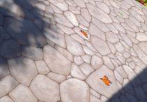 faux cobblestone